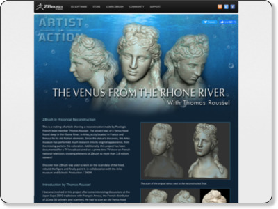http://www.pixologic.com/interview/artist-in-action/venus-zbrush/1/