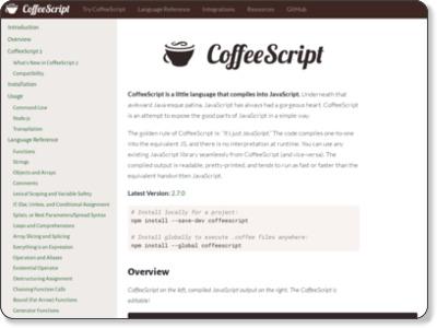 http://coffeescript.org/