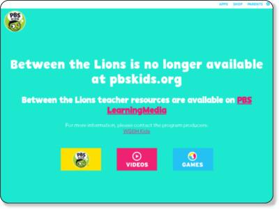 http://pbskids.org/lions/parentsteachers/lionstogo/video_character.html