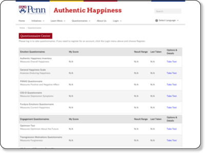 http://www.authentichappiness.sas.upenn.edu/testcenter.aspx