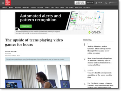http://www.theglobeandmail.com/news/british-columbia/the-upside-of-teens-playing-video-games-for-hours/article12356196/