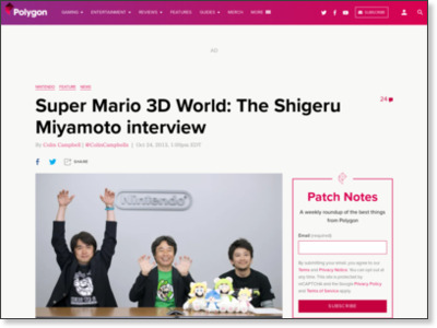 http://www.polygon.com/2013/10/24/5022354/super-mario-3d-world-the-shigeru-miyamoto-interview
