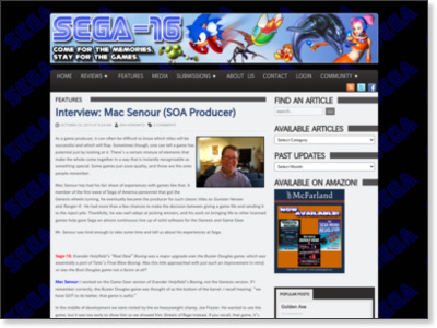 http://www.sega-16.com/2013/10/interview-mac-senour/