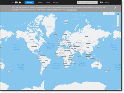 Flickr: Explore your photos on the map