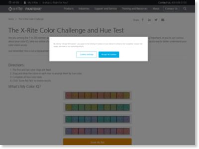 http://www.xrite.com/online-color-test-challenge