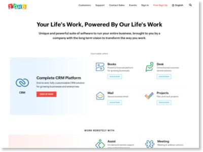 http://www.zoho.jp/