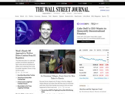 Wall Street Journal (ウォールストリート・ジャーナル)のWordPress (ワードプレス)活用事例