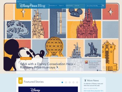 Disney (ディズニー)のWordPress (ワードプレス)活用事例