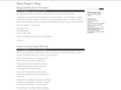 Eben Pagan (イブン・ペイガン)のWordPress(ワードプレス)活用事例