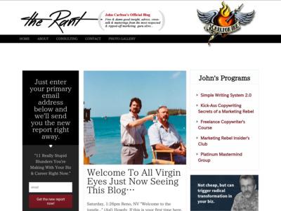 John Carlton (ジョン・カールトン)のWordPress(ワードプレス)活用事例