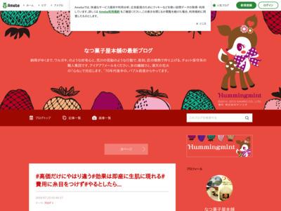 なつ菓子屋本舗アミーバブログ