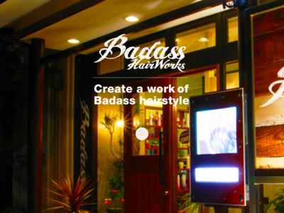 宮城県仙台市の理美容ヘアサロン|BadassHairWorksバダスヘアワークス