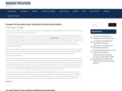 Basket Review (バスケットレビュー)