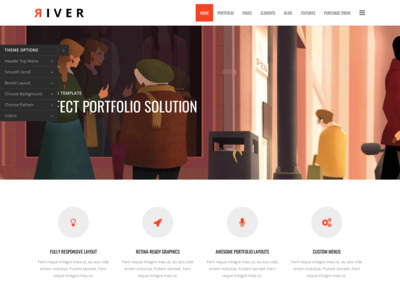 River | Responsive Multi-Purpose WordPress Theme