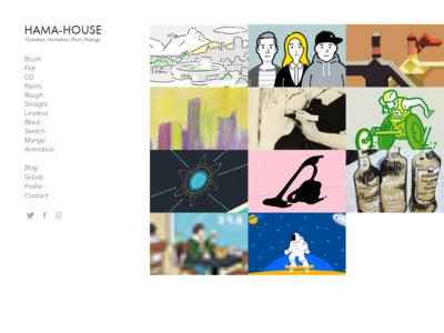 イラストレーター / Hama-House