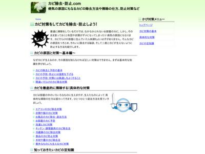 カビ除去・防止.com