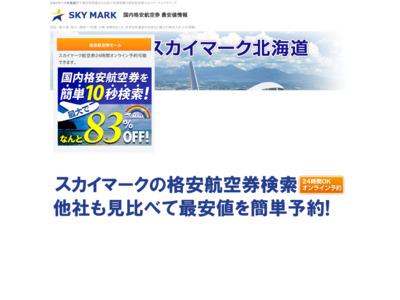 北海道飛行機スカイマーク