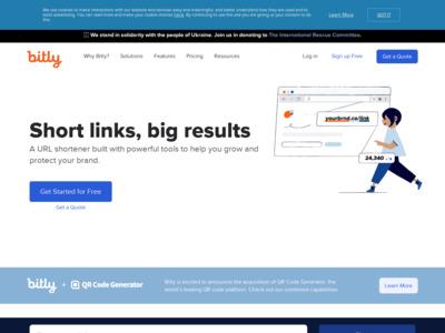 bitly公式サイト