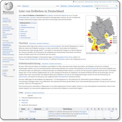 http://de.wikipedia.org/wiki/Liste_von_Erdbeben_in_Deutschland