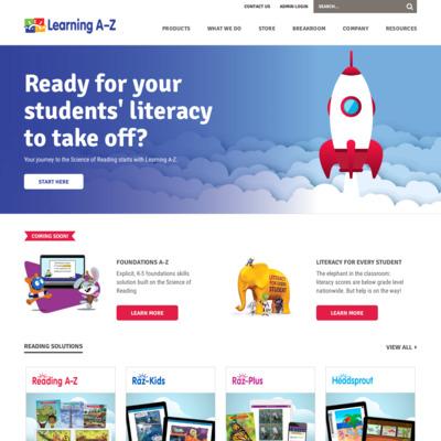 http://www.learninga-z.com/