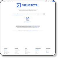 http://www.virustotal.com/