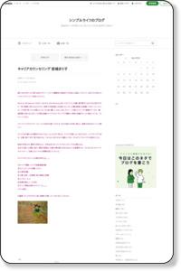キャリアカウンセリング 宮城まり子|シンプルライフのブログ