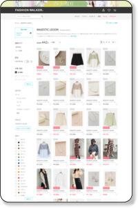マジェスティックレゴンを通販選ぶならファッションウォーカー