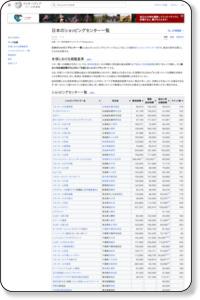 日本のショッピングセンター一覧 - Wikipedia