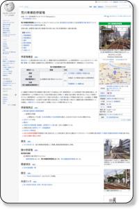 荒川車庫前駅 - Wikipedia