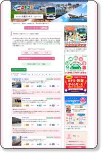 【ユキサキナビ】荒川区の交通アクセスを探す