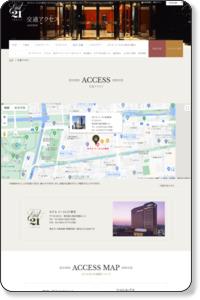 交通アクセス | ホテル イースト21東京
