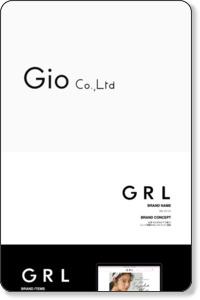 株式会社Gio レディースアパレルの製造・販売業