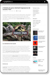 L'histoire du gros méchant logosaurus de Jurassic Park