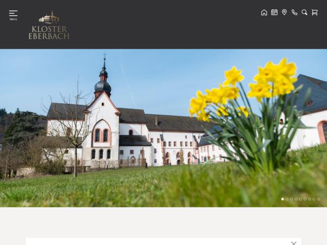 Weingut Online-Vinothek Tagungen Events Gastronomie Freundeskreis·Kloster Eberbach