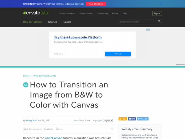http://net.tutsplus.com/tutorials/javascript-ajax/how-to-transition-an-image-from-bw-to-color-with-canvas/
