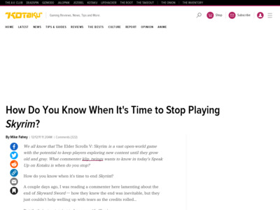 http://kotaku.com/5867242/how-do-you-know-when-its-time-to-stop-playing-skyrim