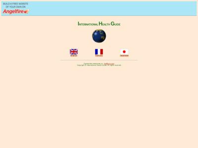 International Health Guide