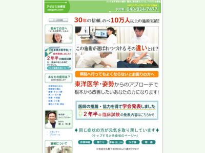 アゼガミ治療室(さいたま市浦和区)