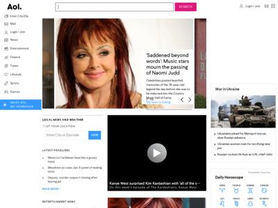 AOL Netfind ディレクトリ検索