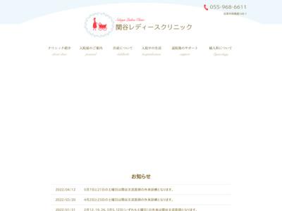 関谷レディースクリニック(沼津市)