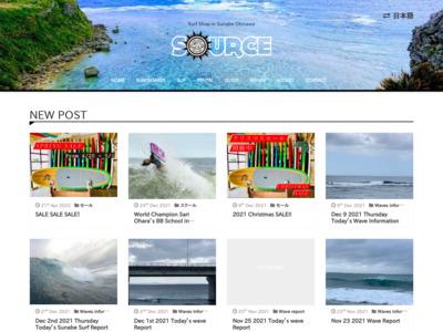 沖縄サーフィンのソースサーフインポート