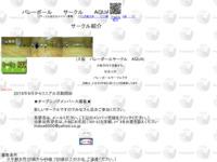 バレーボールサークル AQUAのサイト画像