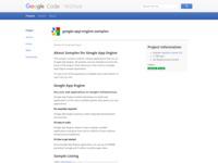 http://code.google.com/p/google-app-engine-samples/