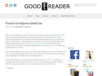 http://goodereader.com/blog/tablet-slates/france-to-impose-tablet-tax/