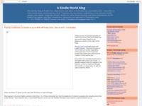 http://kindleworld.blogspot.com/