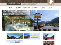 遠山郷のホームページ