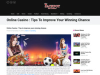 Online Casino : Tips to improve your winning chance