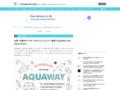 水彩・手描きのベクターをセットにしたフリー素材「AquaWay Free Vector Pack」 | DesignDevelop