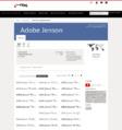 Adobe Jenson Complete Family Pack (32 Fonts)