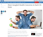 Most Googled Health Concerns in Each US State